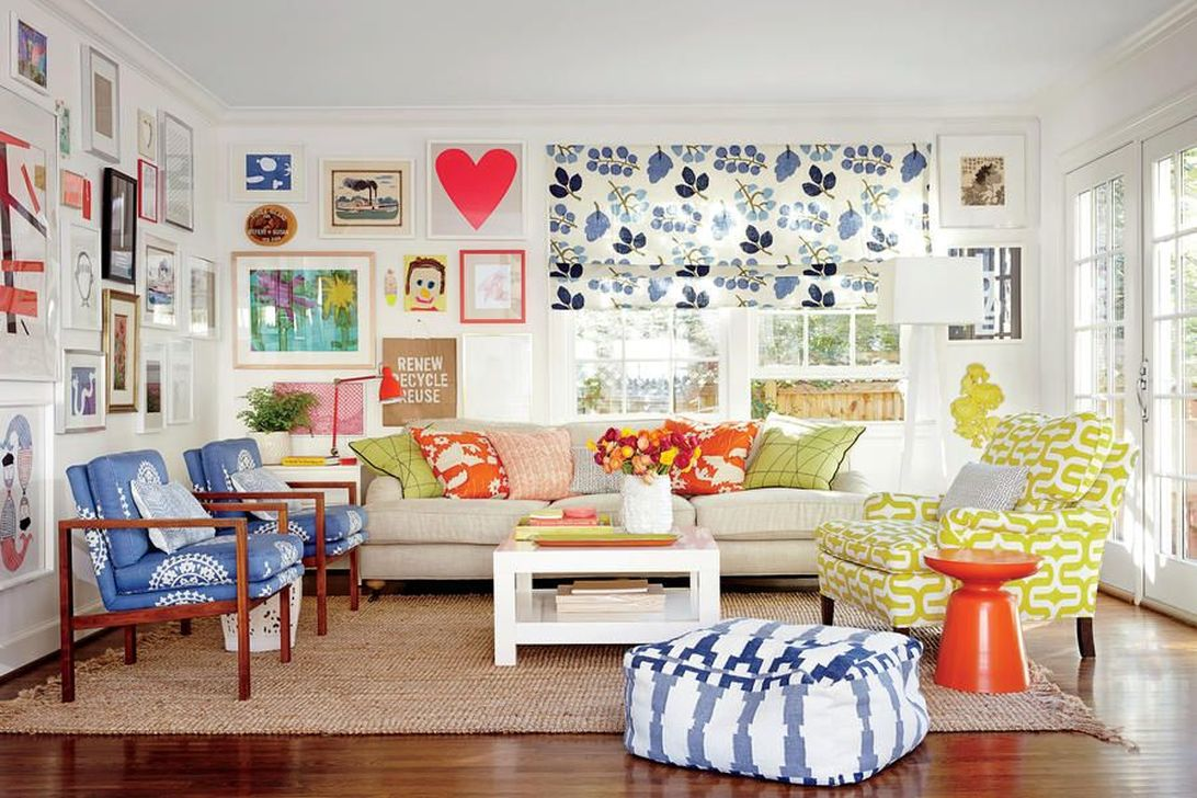 Fabulous Family Friendly Living Room Decoration Ideas 31