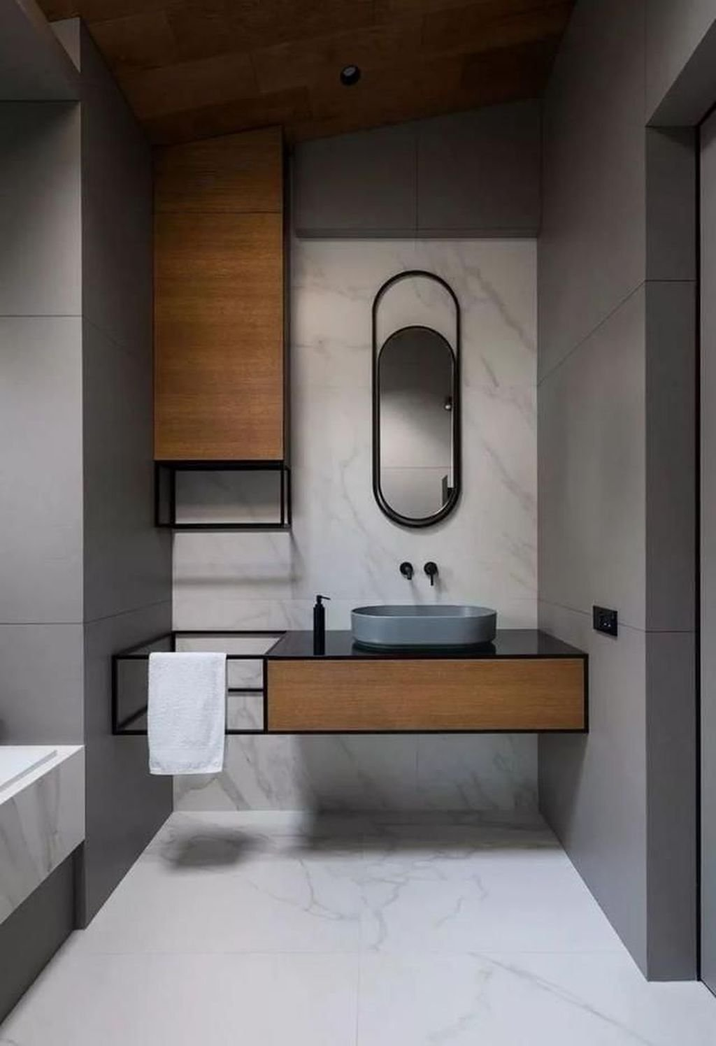 Fabulous Minimalist Bathroom Decor Ideas That Become Everyones Dream 01