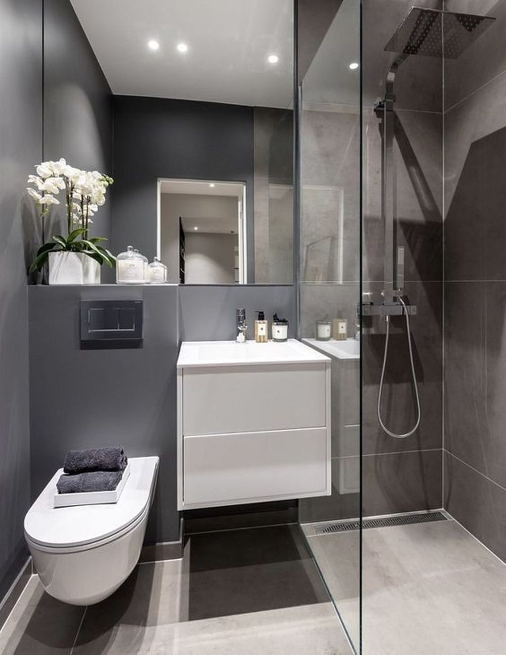 Fabulous Minimalist Bathroom Decor Ideas That Become Everyones Dream 07