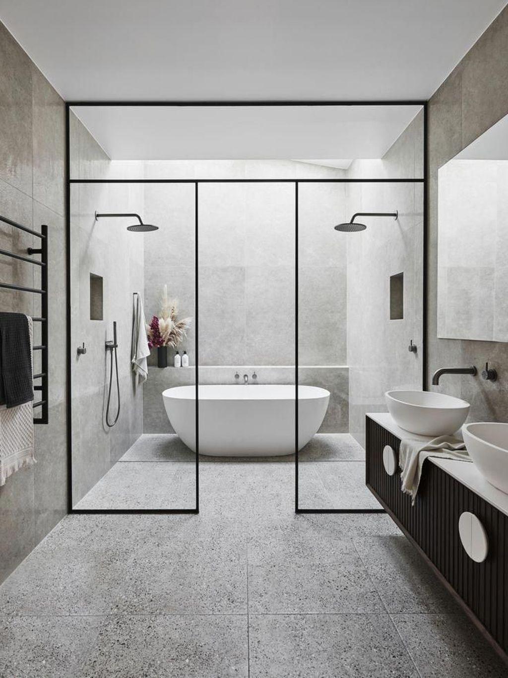 Fabulous Minimalist Bathroom Decor Ideas That Become Everyones Dream 29