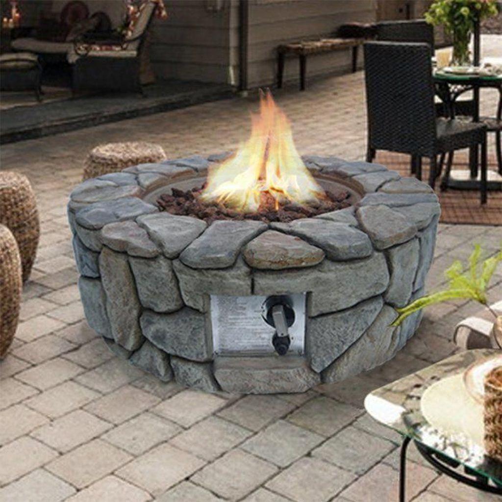 Fabulous Stone Fire Pit Design And Decor Ideas 12