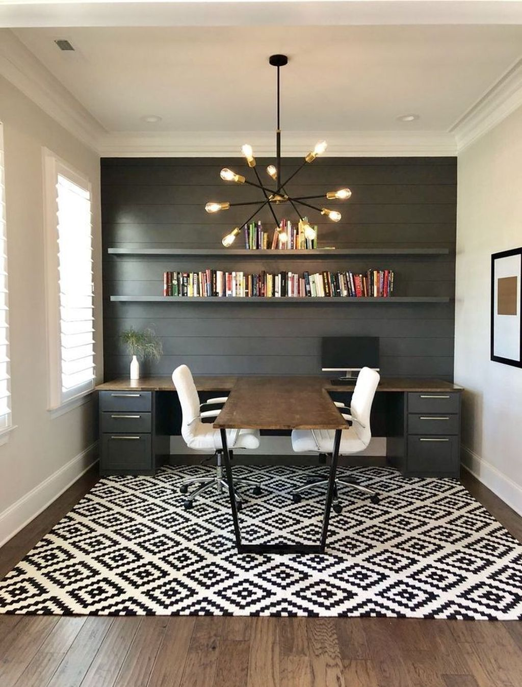 Gorgeous Home Office Design Ideas For Men 09
