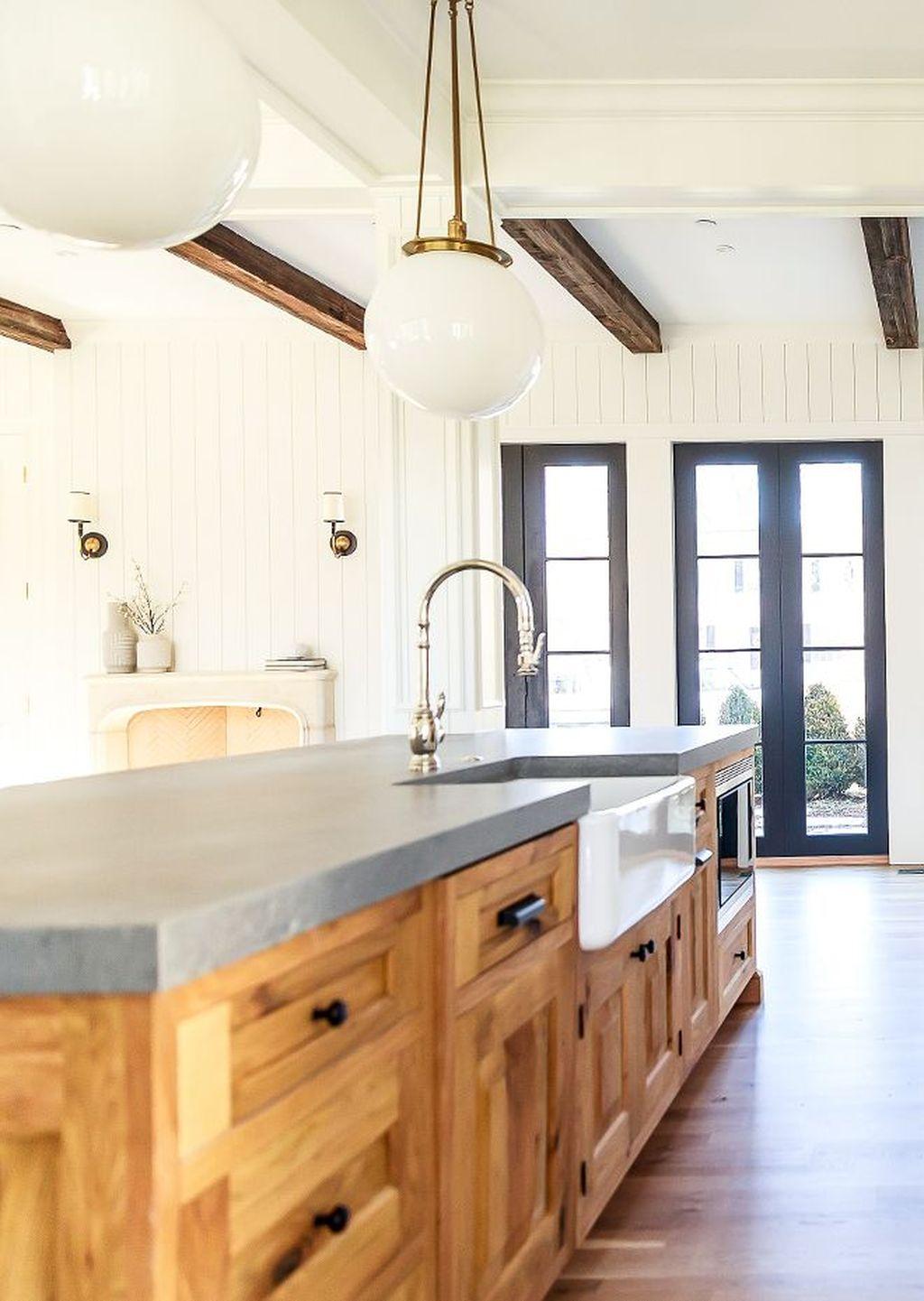 Gorgeous Kitchen Countertops Design Ideas 21