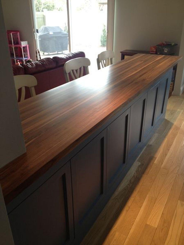 Gorgeous Kitchen Countertops Design Ideas 24