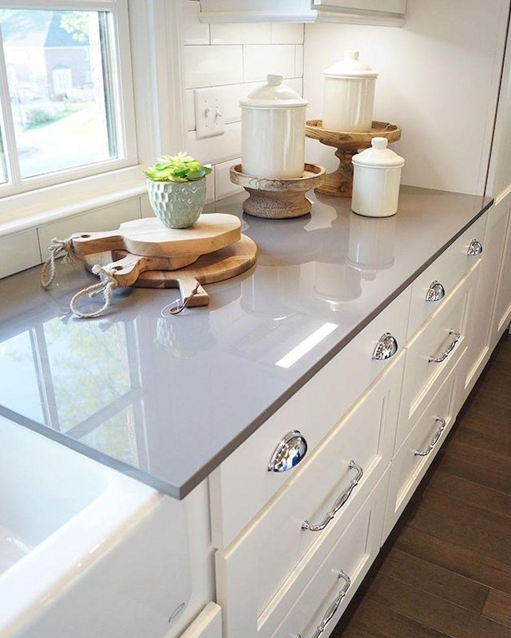 Gorgeous Kitchen Countertops Design Ideas 27