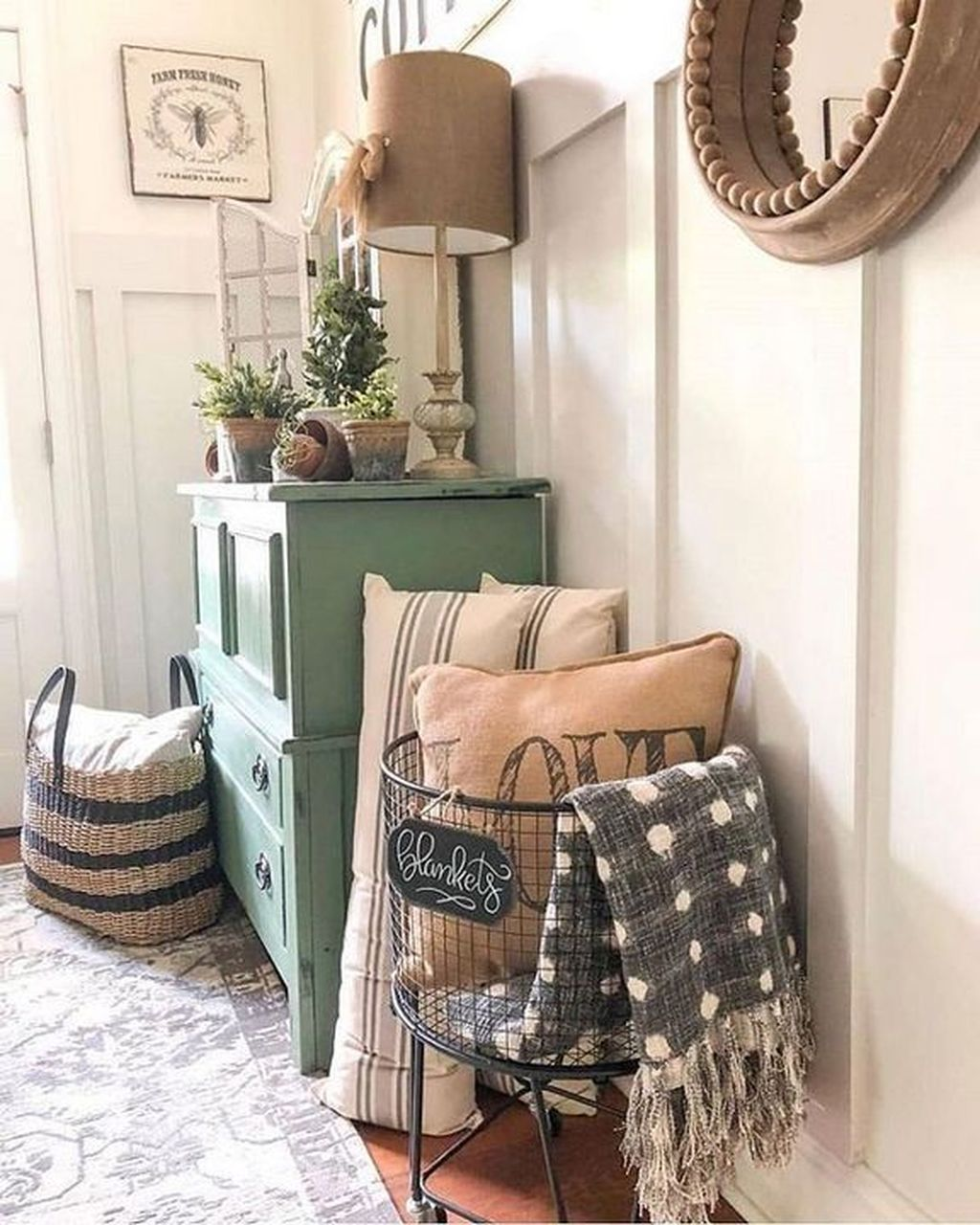 Incredible Rustic Farmhouse Living Room Design Ideas 09