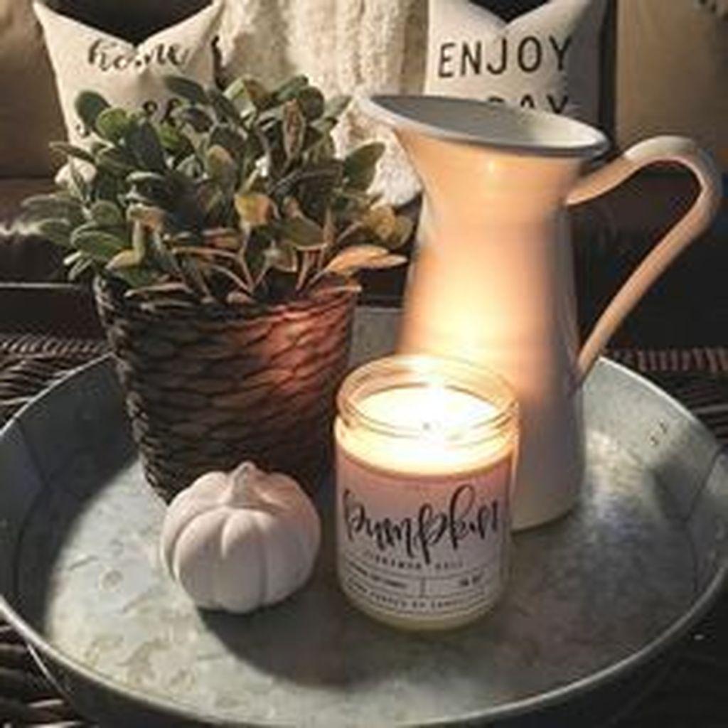 Inspiring Fall Living Room Decor Ideas On A Budget 15