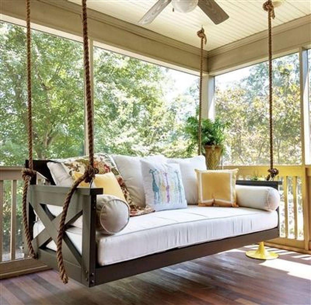Inspiring Farmhouse Front Porch Decor Ideas 30