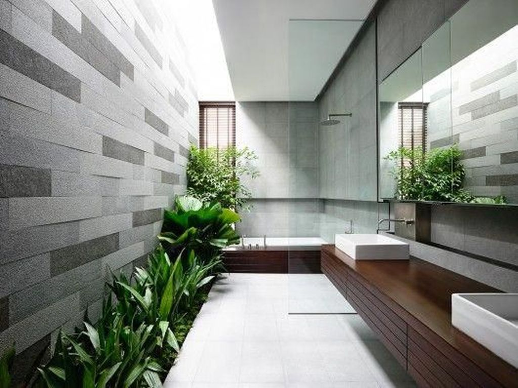 Inspiring Jungle Bathroom Decor Ideas 30