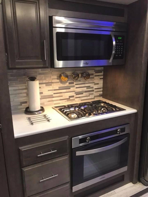 Inspiring RV Kitchen Design And Decor Ideas 10