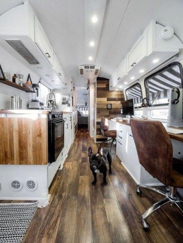 Inspiring RV Kitchen Design And Decor Ideas 28
