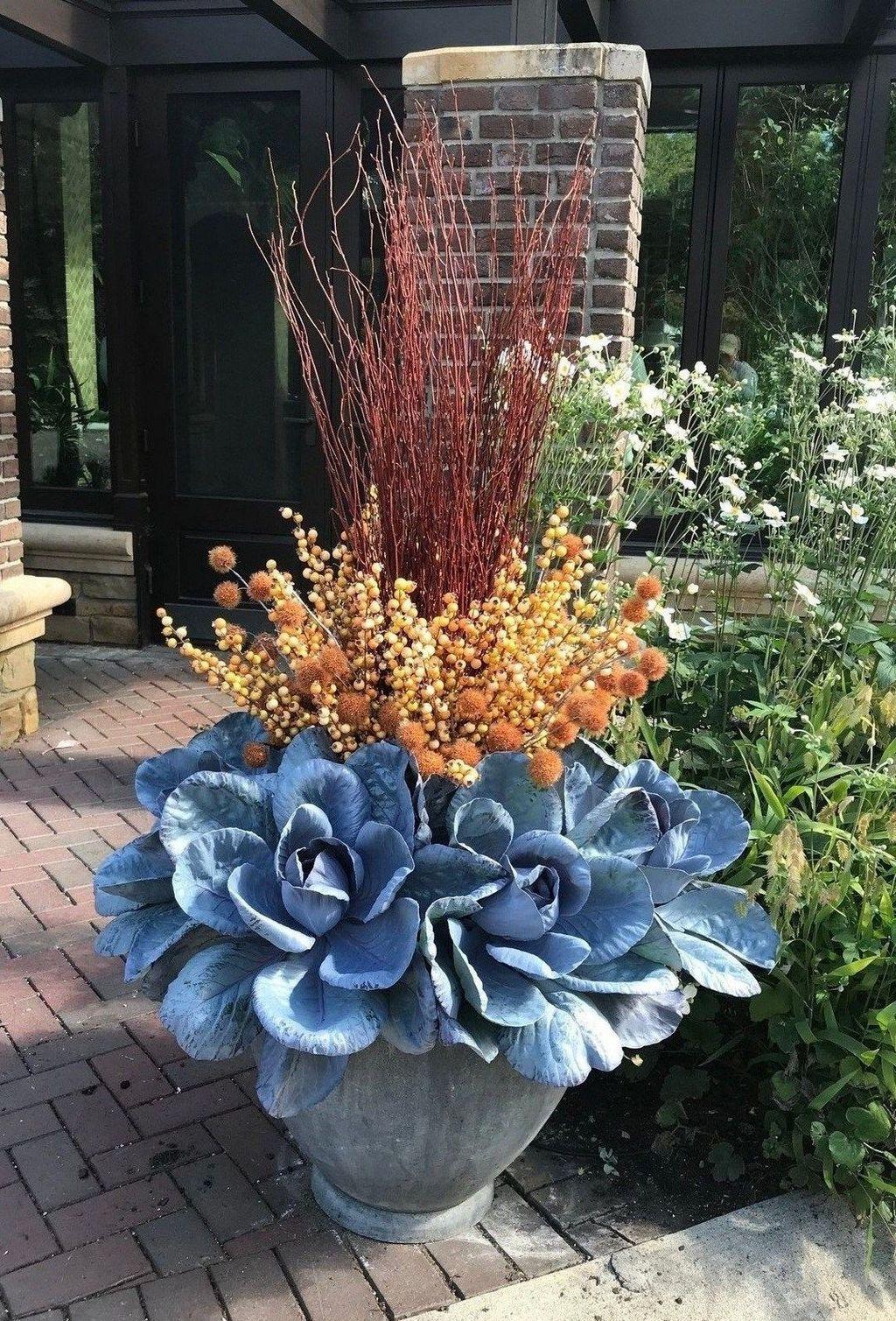 Inspiring Winter Container Gardening Ideas 18