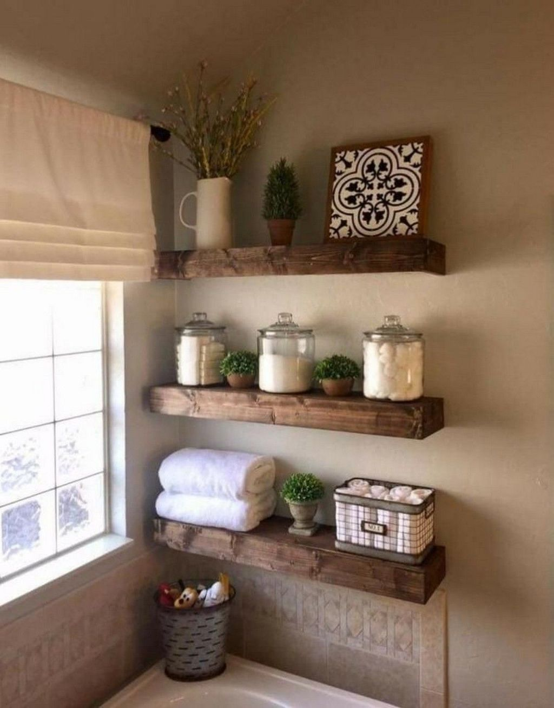 Lovely Farmhouse Bathroom Design Ideas 12