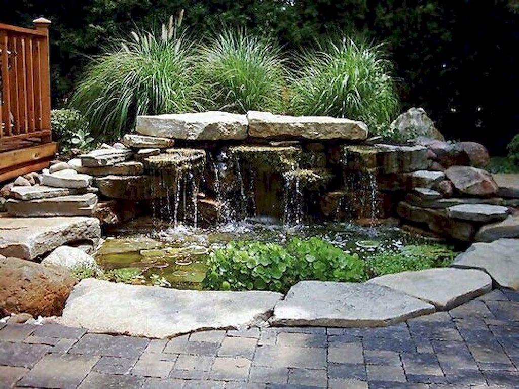 Nice Fish Ponds Backyard Decoration Ideas 06