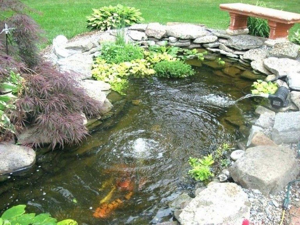 Nice Fish Ponds Backyard Decoration Ideas 21
