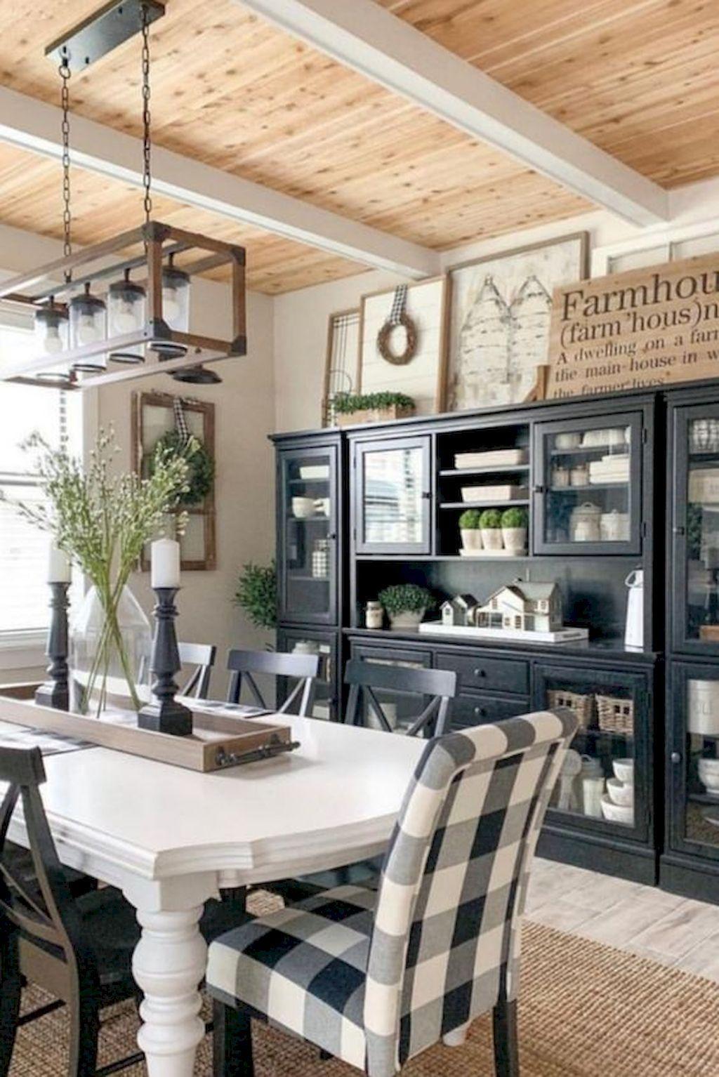 Stunning Farmhouse Interior Design Ideas To Realize Your Dreams 30