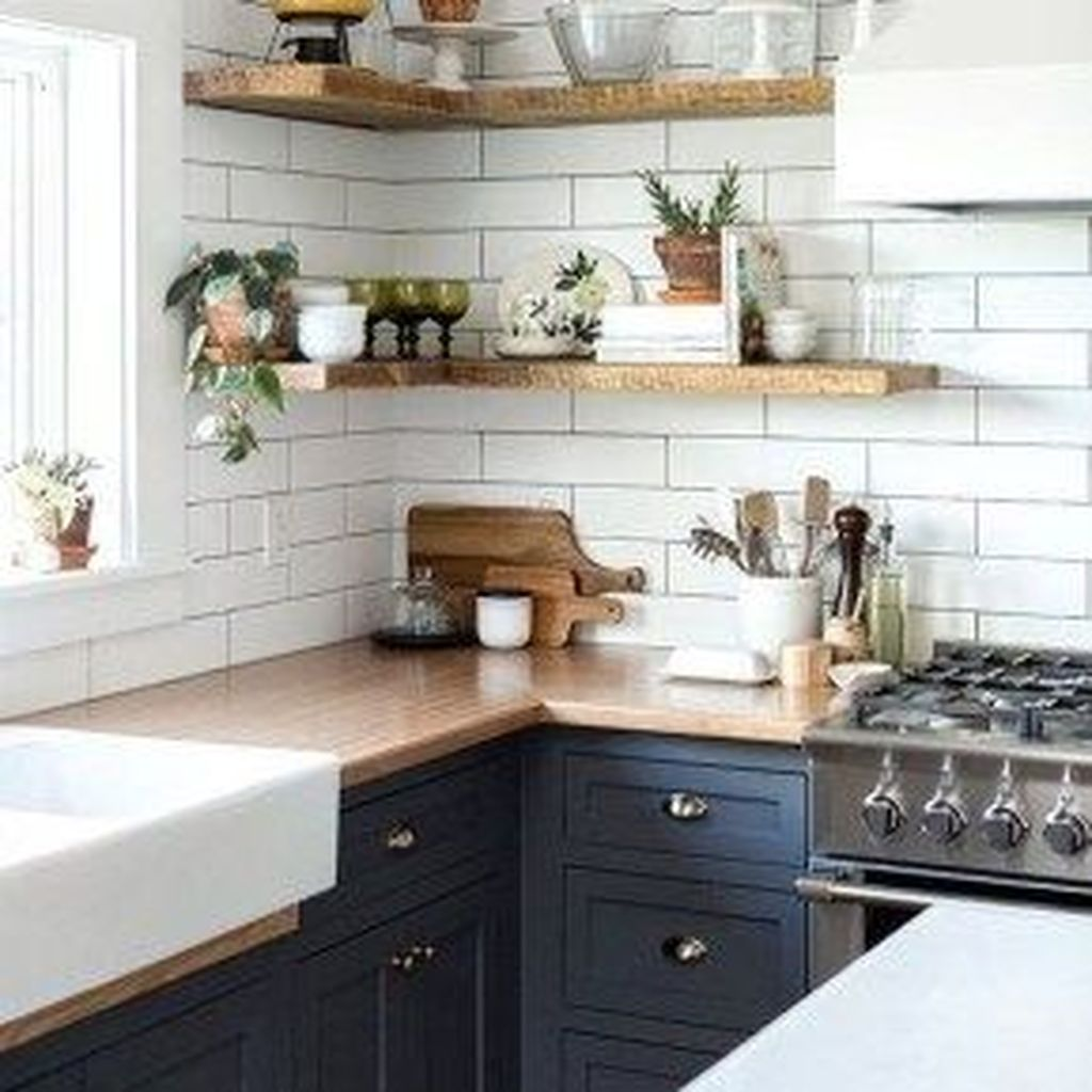 Stunning Navy Kitchen Cabinets Ideas You Have Must See 08
