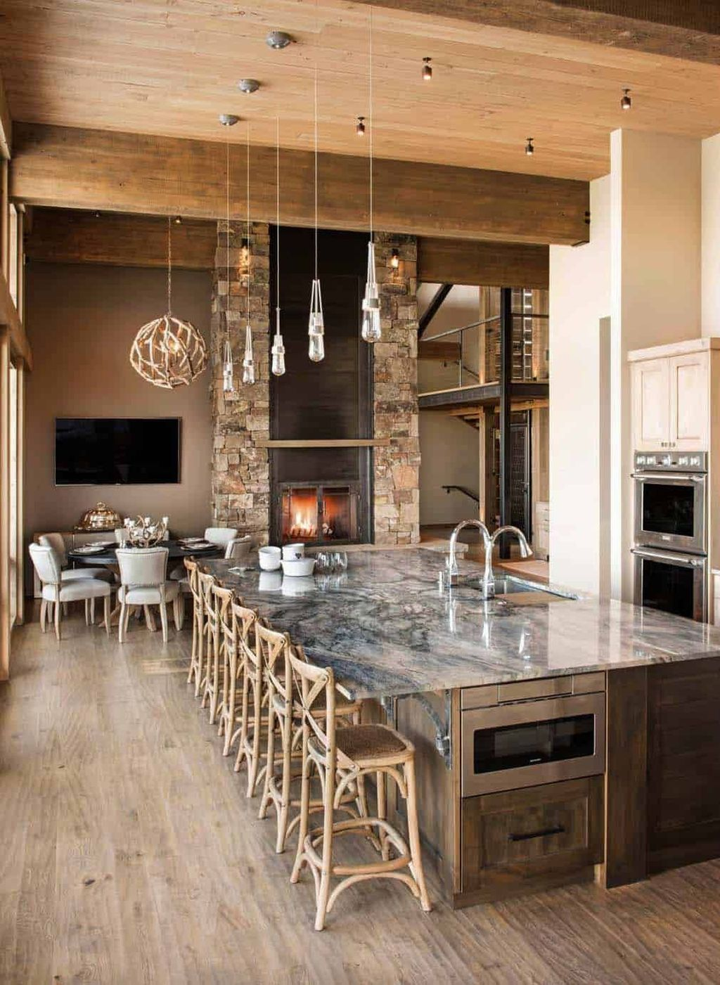 Stunning Rustic Interior Design Ideas That You Will Like 18