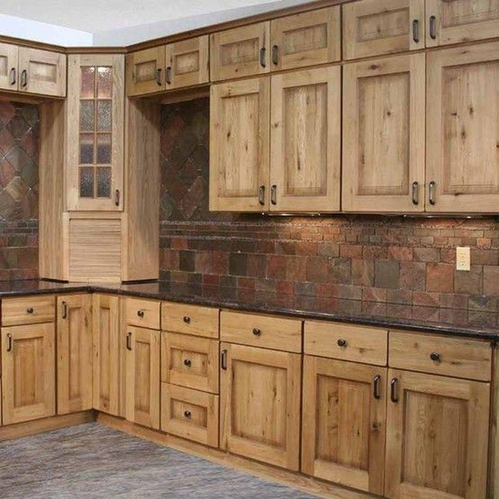 Stunning Rustic Kitchen Design And Decor Ideas 26