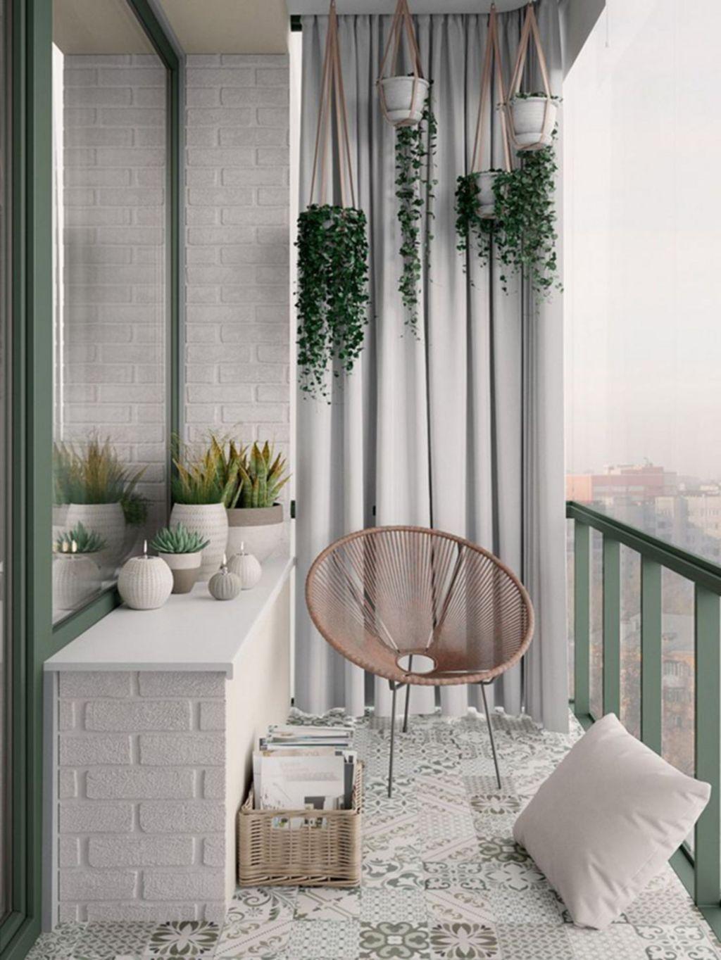 The Best Apartment Balcony Decor Ideas For Fall Season 20