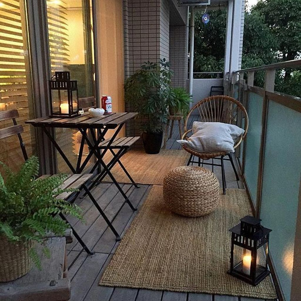The Best Apartment Balcony Decor Ideas For Fall Season 25
