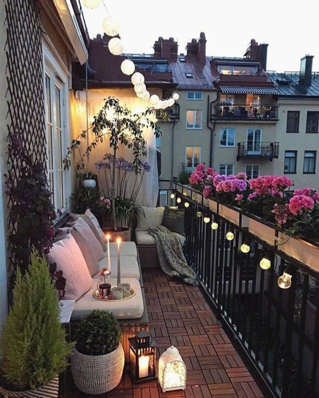 The Best Apartment Balcony Decor Ideas For Fall Season 33