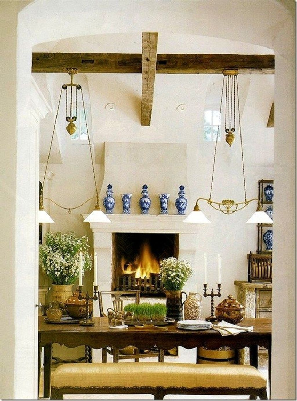 The Best Country Style Interior Design Ideas 21