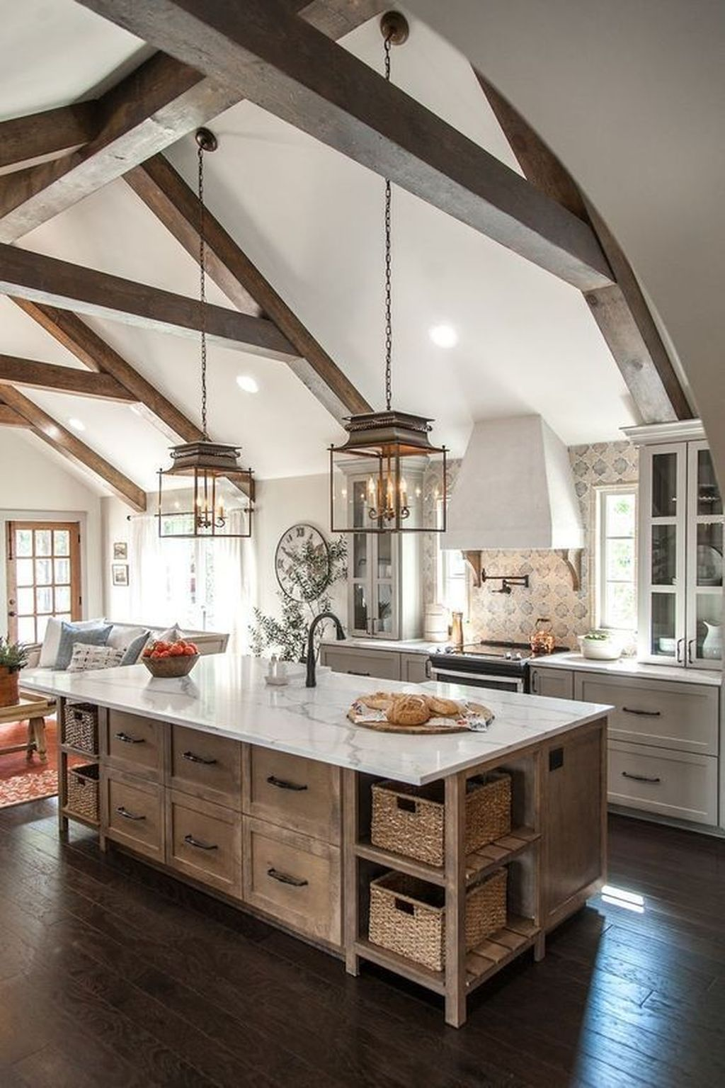 The Best Farmhouse Kitchen Design Ideas For You Try 11