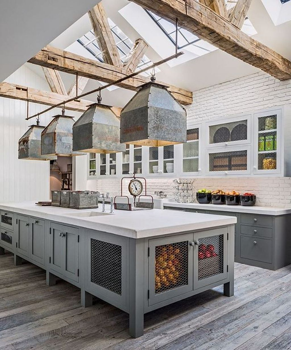 The Best Farmhouse Kitchen Design Ideas For You Try 24
