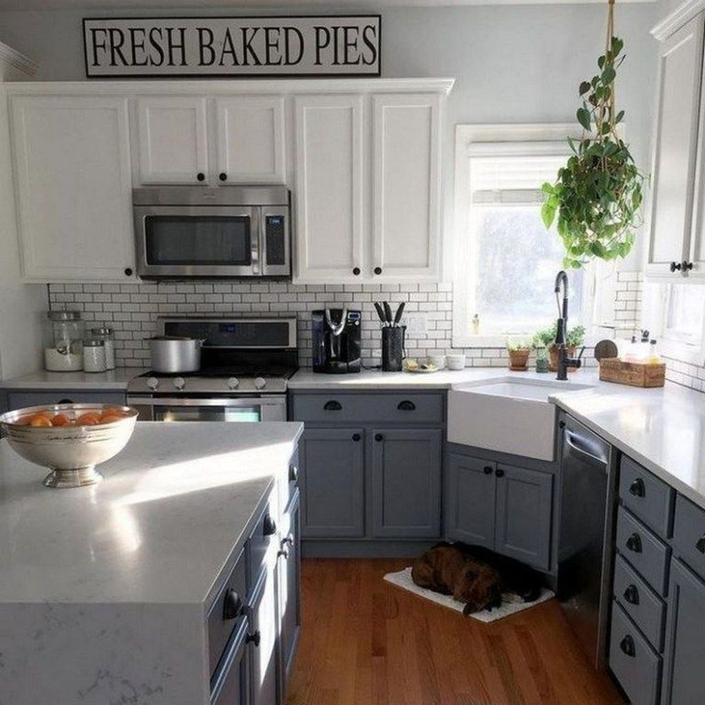 The Best Farmhouse Kitchen Design Ideas For You Try 29