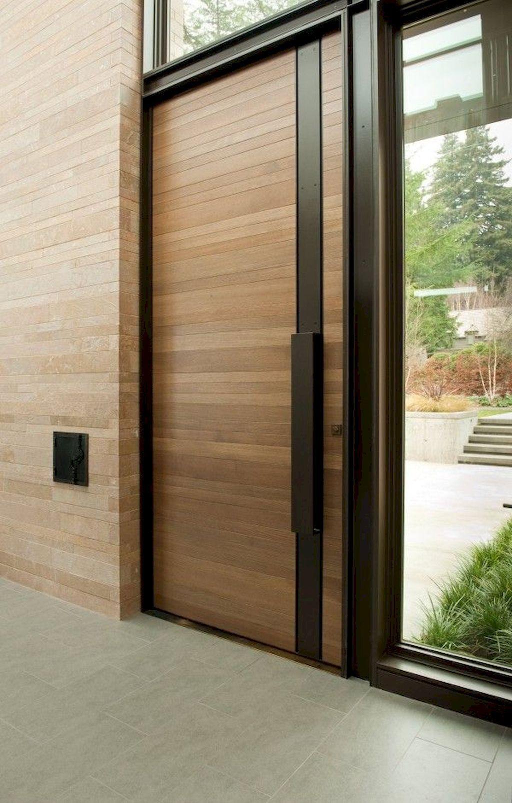 The Best Modern Front Entrance Exterior Design Ideas 12