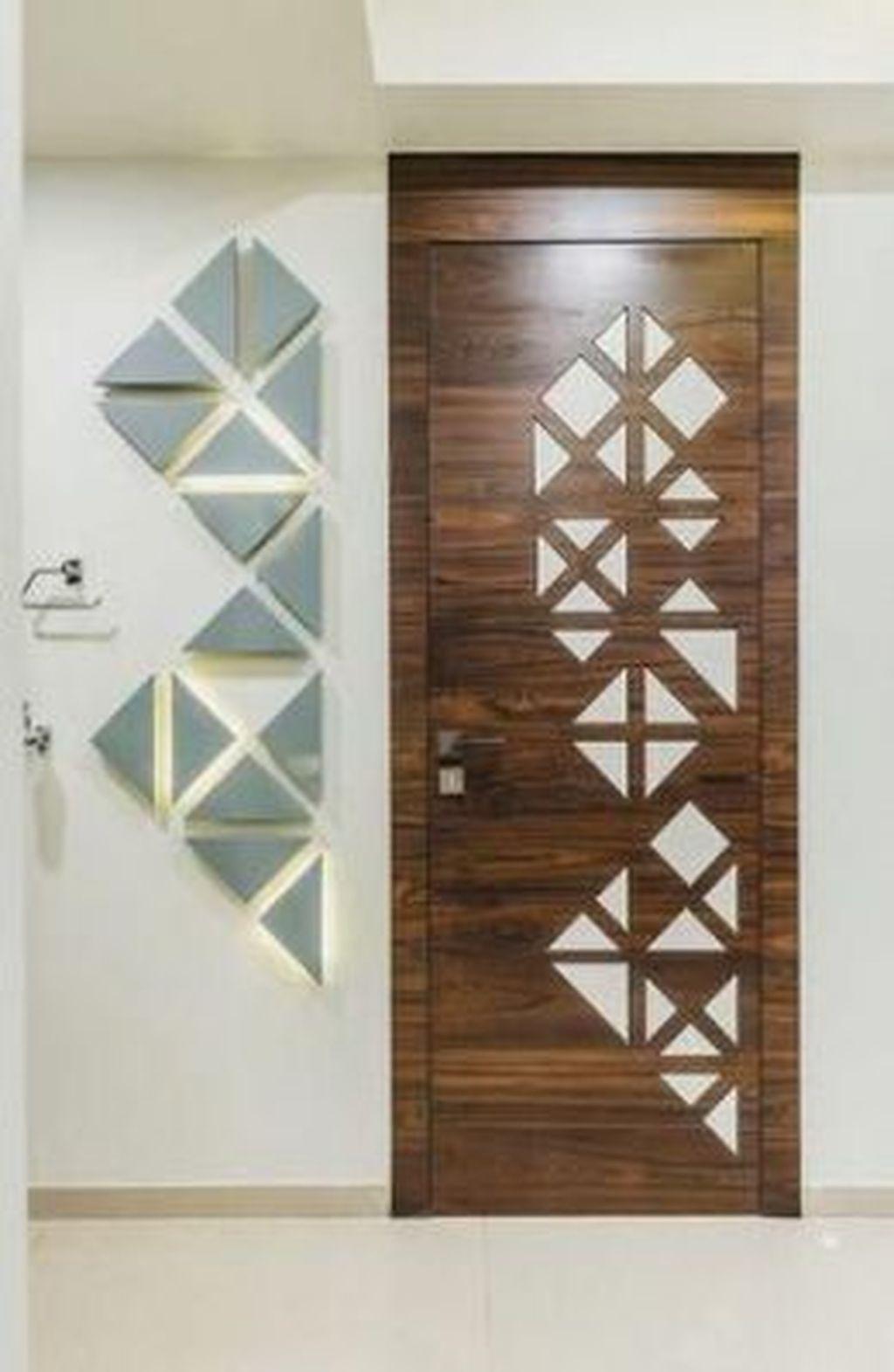 The Best Modern Front Entrance Exterior Design Ideas 20