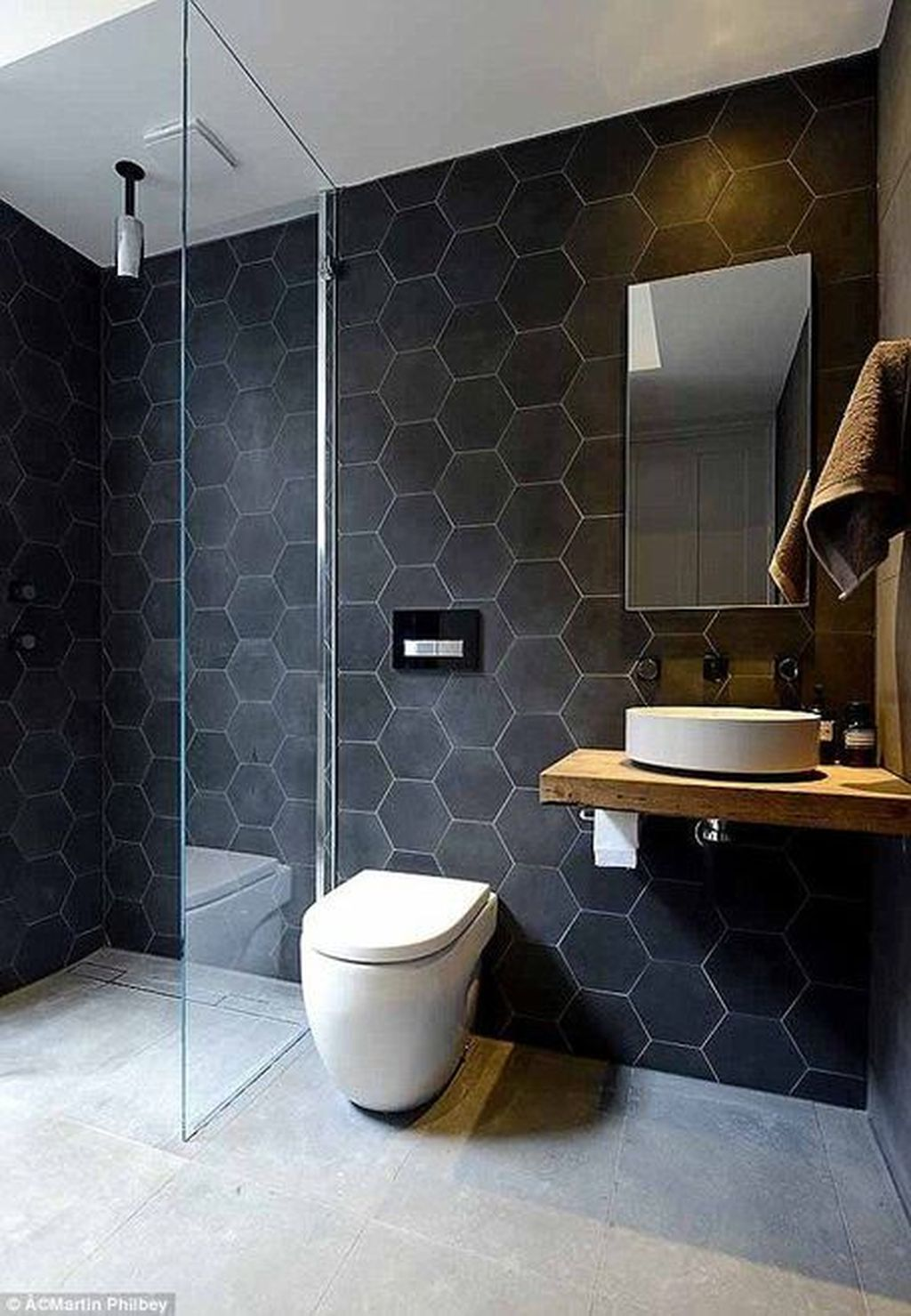 The Best Stone Tile Bathroom Ideas To Decorate Your Bathroom 16