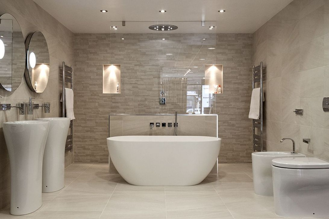 The Best Stone Tile Bathroom Ideas To Decorate Your Bathroom 22