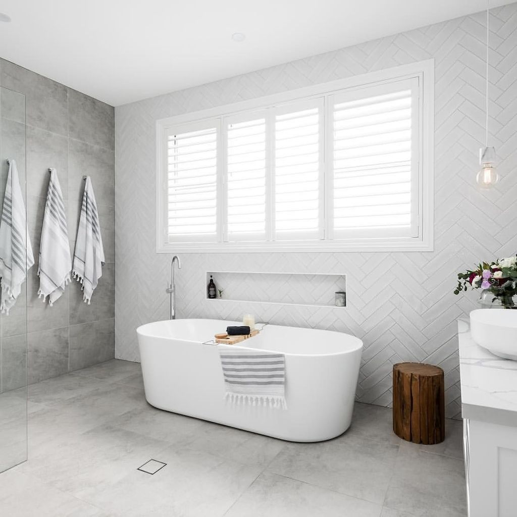The Best Stone Tile Bathroom Ideas To Decorate Your Bathroom 30