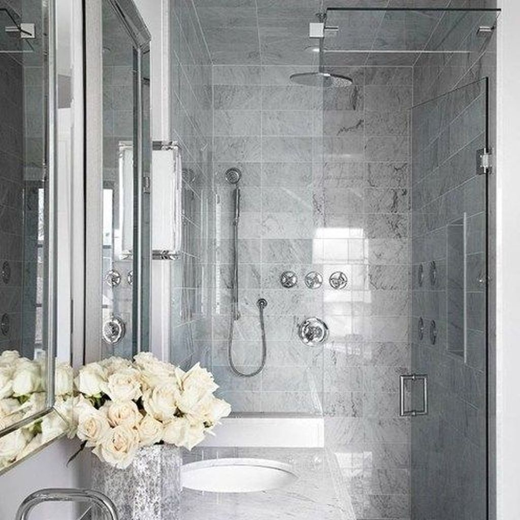 The Best Stone Tile Bathroom Ideas To Decorate Your Bathroom 33