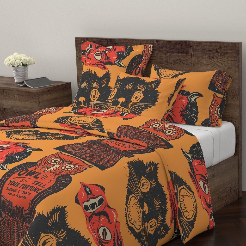 Amazing Bedroom Decoration Ideas With Halloween Theme 01