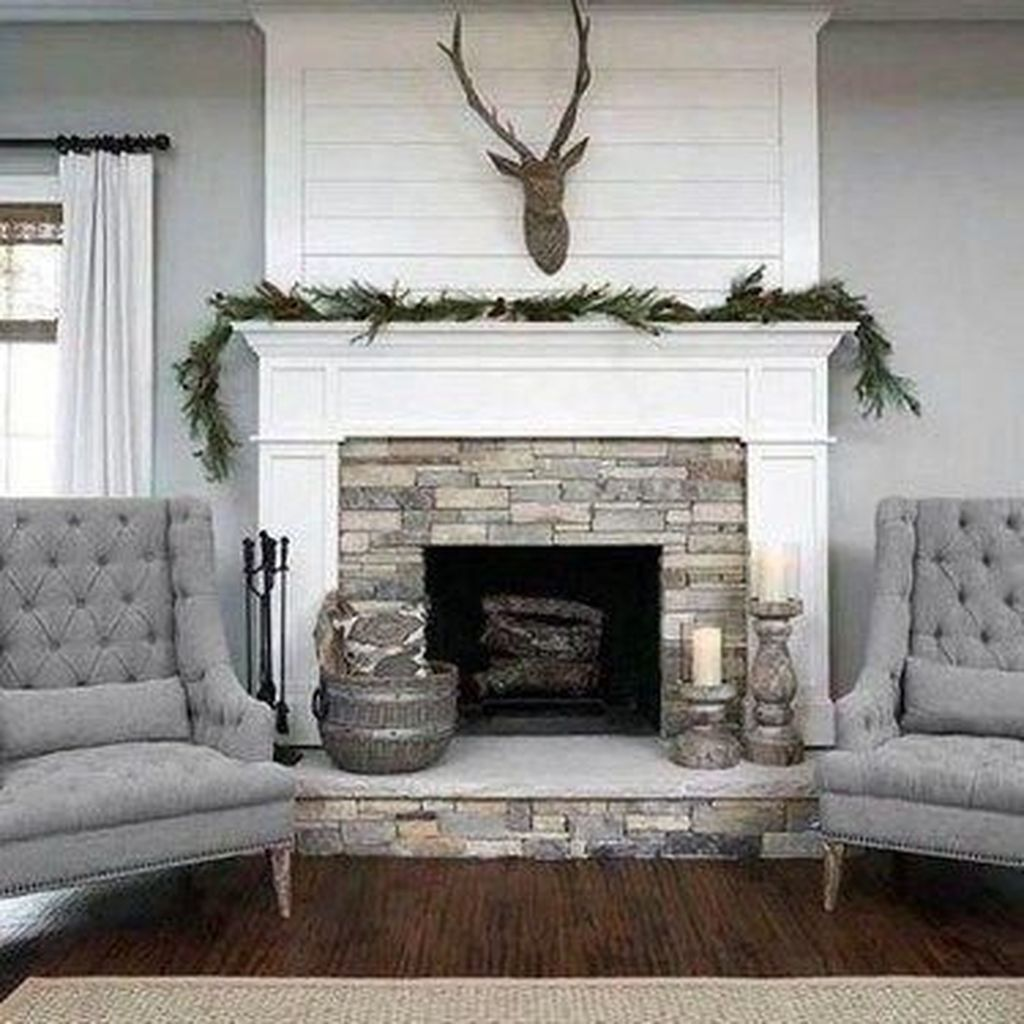 Awesome Living Room Design Ideas With Fireplace 02