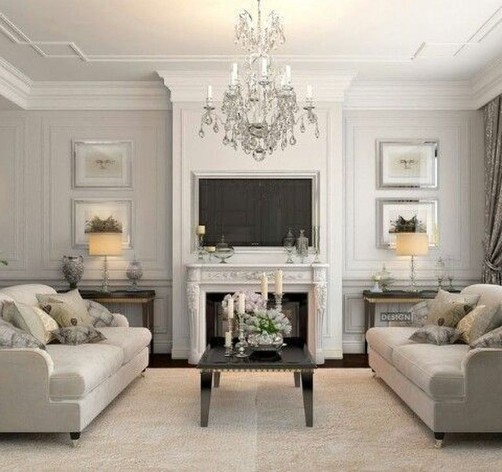 Awesome Living Room Design Ideas With Fireplace 11