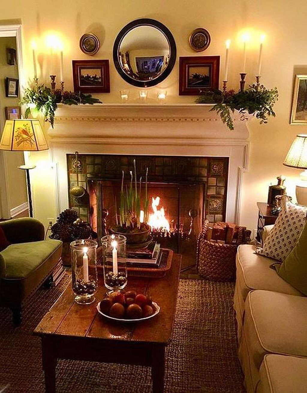 Awesome Living Room Design Ideas With Fireplace 18