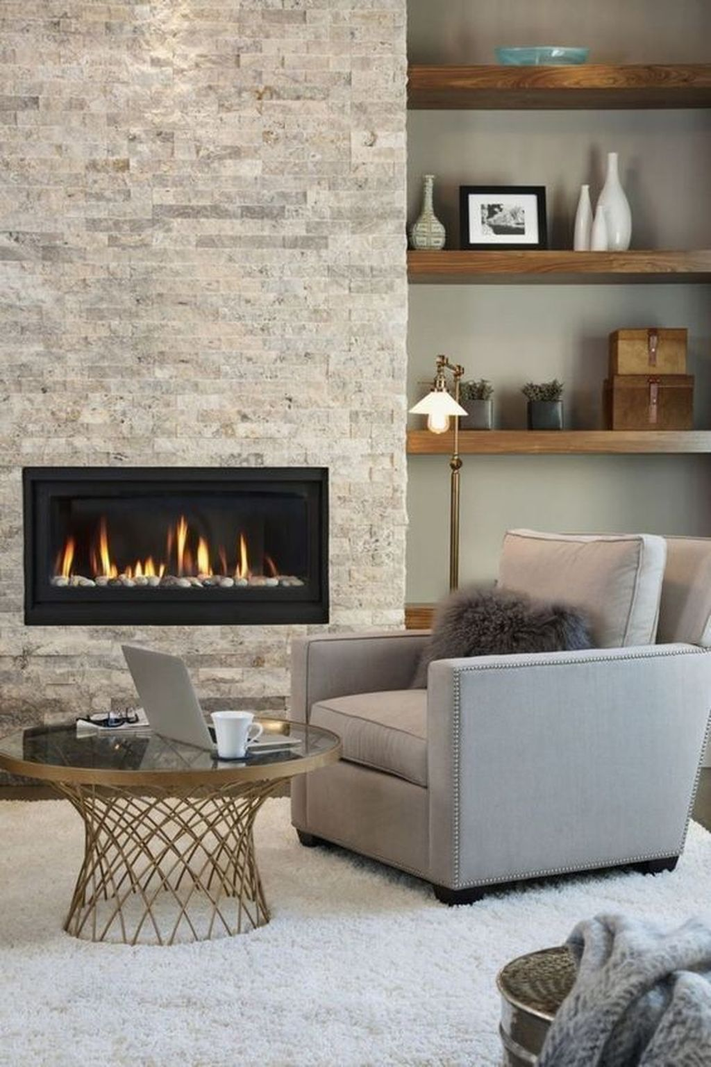 Awesome Living Room Design Ideas With Fireplace 29
