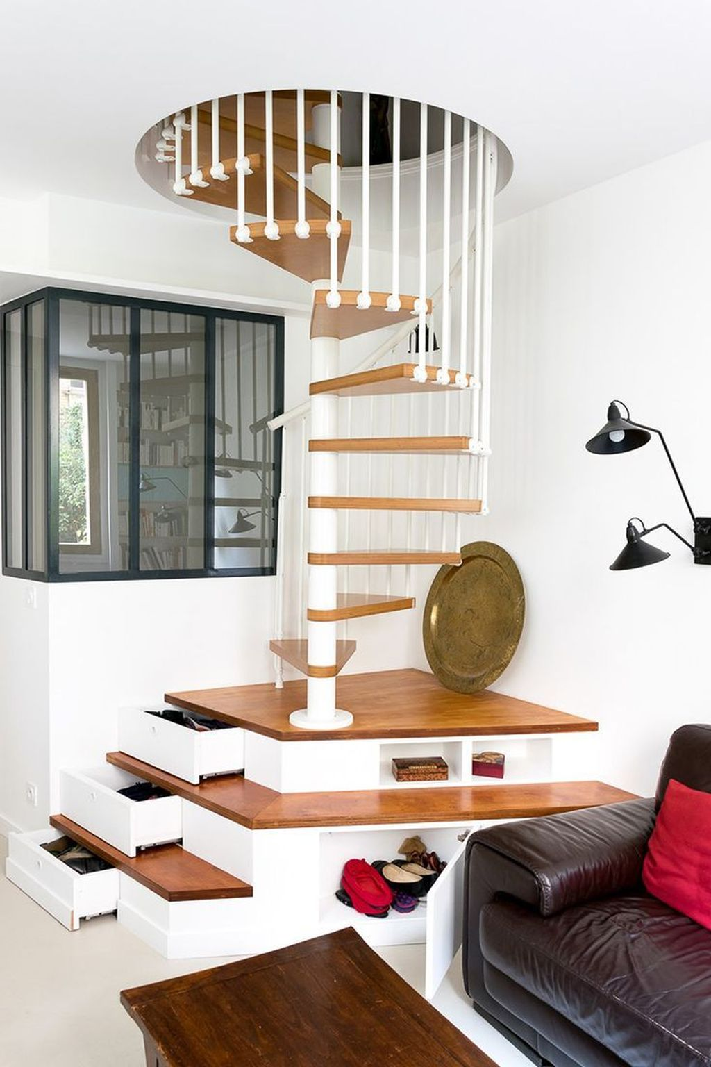 Beautiful Home Stairs Design Ideas With Modern Style 06