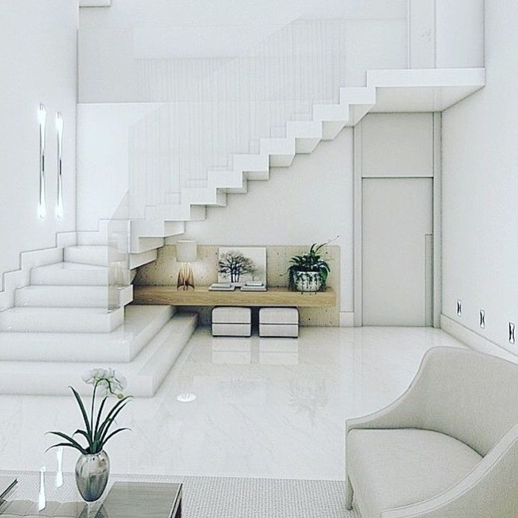 Beautiful Home Stairs Design Ideas With Modern Style 20