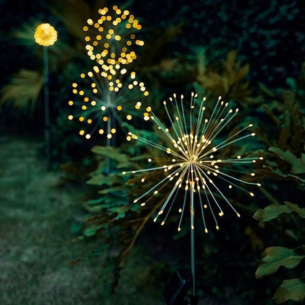 Inspiring Garden Lamps Ideas For Outdoors Decor 06