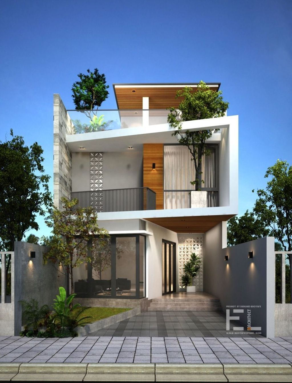 Inspiring Modern House Architecture Design Ideas 03