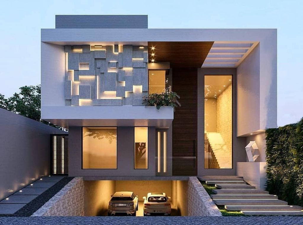 Inspiring Modern House Architecture Design Ideas 08