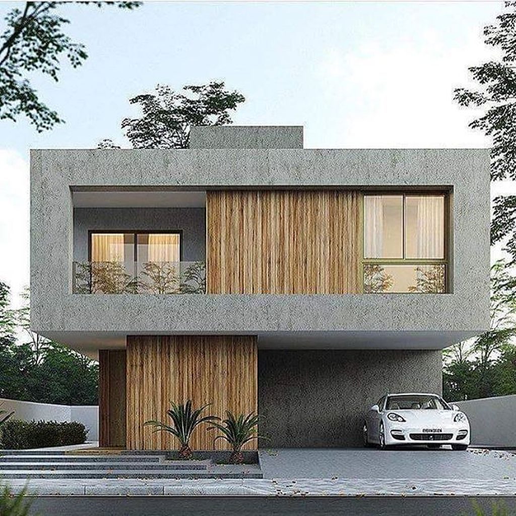 Inspiring Modern House Architecture Design Ideas 21