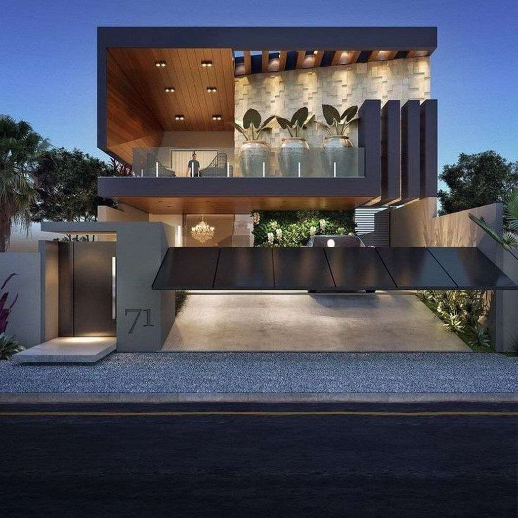Inspiring Modern House Architecture Design Ideas 25