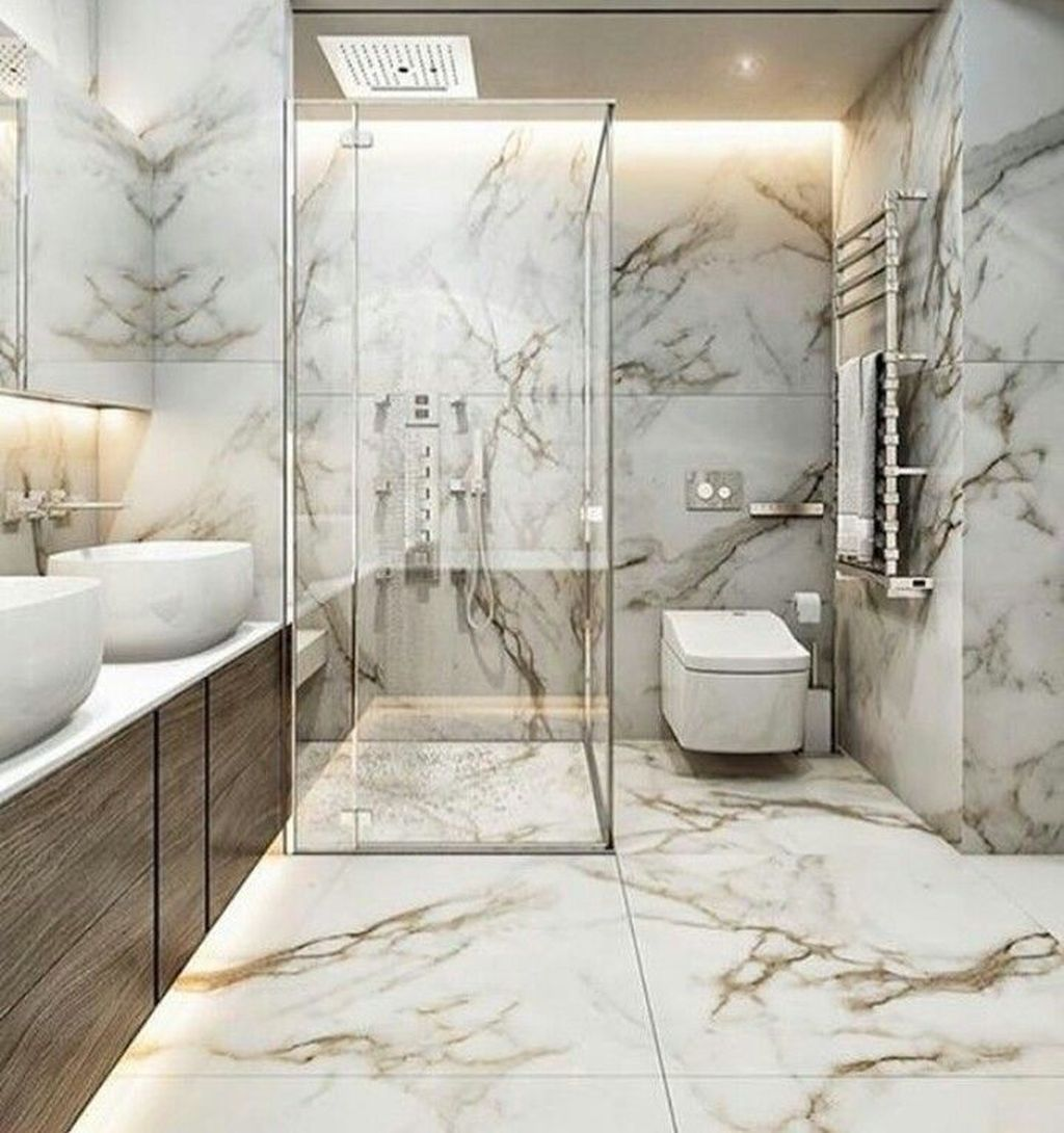 Luxury Bathroom Design And Decor Ideas 13