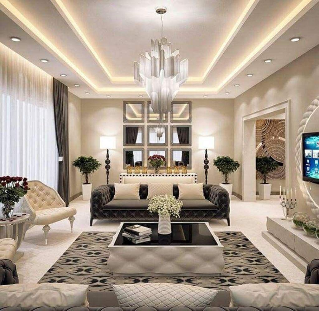 Nice Living Room Ceiling Lights Design Ideas 02